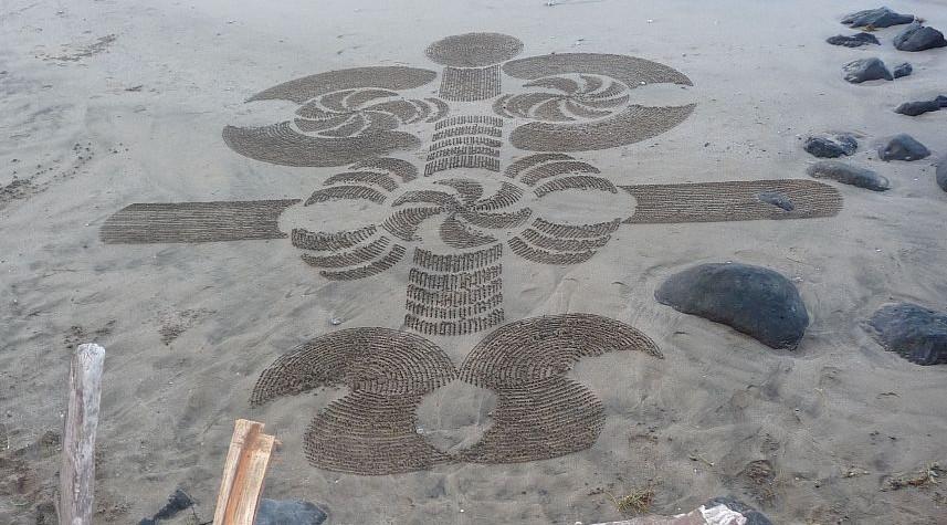 Maui Sand Art