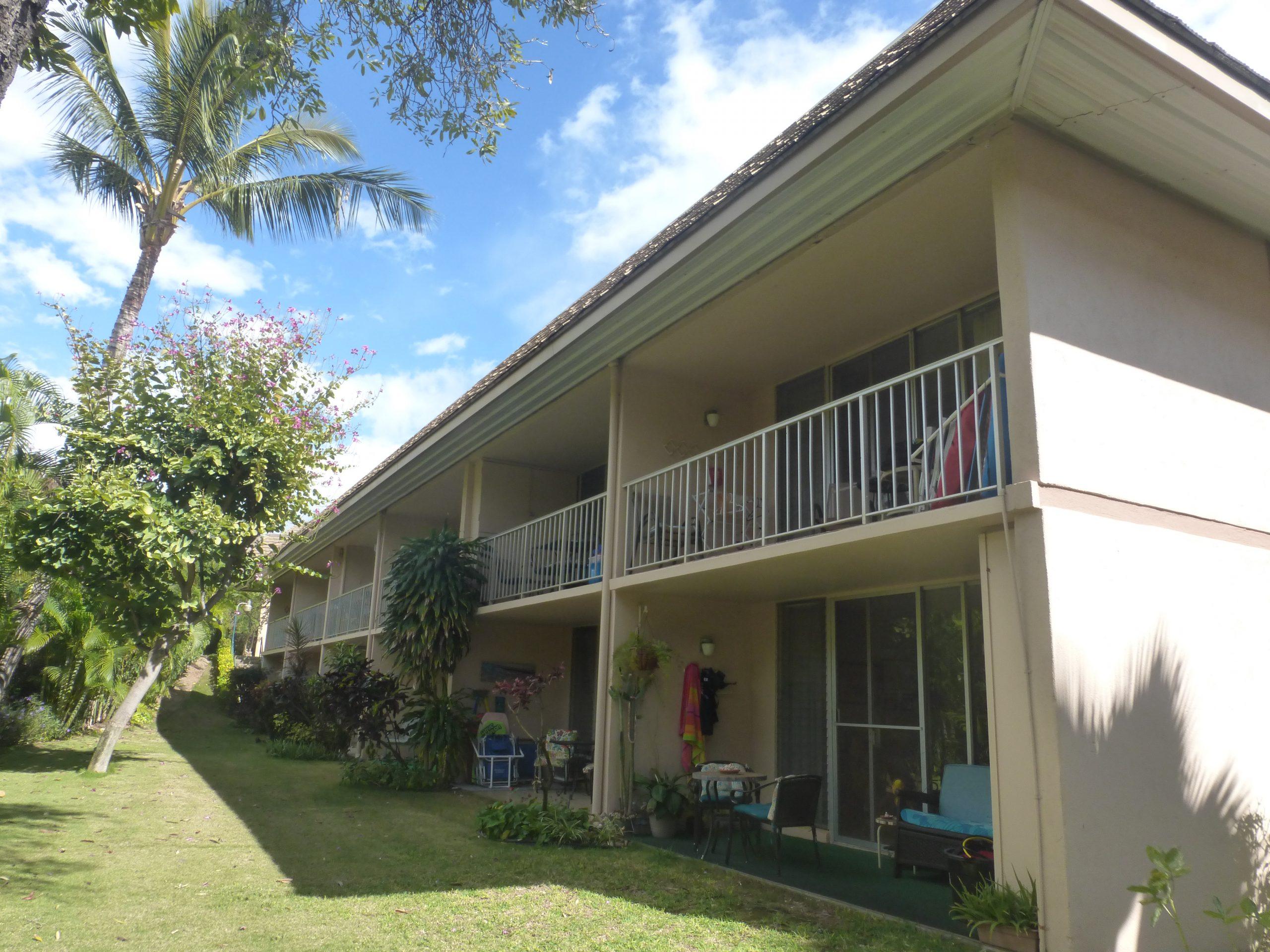 Building 7 Backyard view